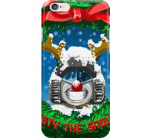 Frosty the Snowbot iPhone Case/Skin