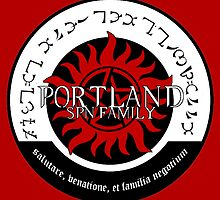 Portland Supernatural Family Logo by MistyFigs