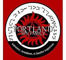 Portland Supernatural Family Logo Photographic Print