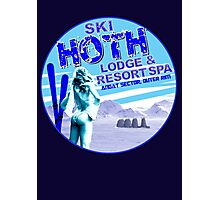 Hoth Lodge Photographic Print