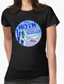 Hoth Lodge Womens Fitted T-Shirt