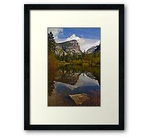 Mirror Lake, Yosemite Framed Print