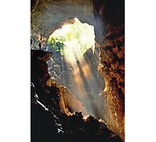 Light at the end of the tunnel Photographic Print