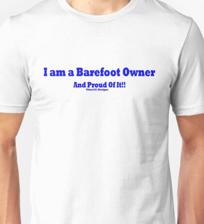 Barefoot Owners Unisex T-Shirt