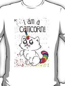 Funny I am Caticorn T-Shirt