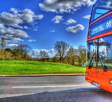 Harlow Bus by Nigel Bangert
