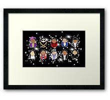 Michael Jackson Tiggles Framed Print