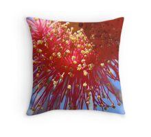 pollen factory Throw Pillow