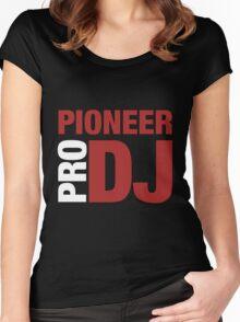 Pioneer DjPro Women's Fitted Scoop T-Shirt