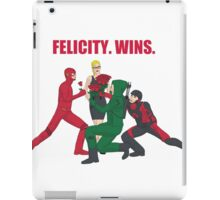 Felicity. Wins. iPad Case/Skin