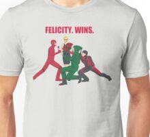 Felicity. Wins. Unisex T-Shirt
