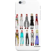 The stages of Bowie iPhone Case/Skin