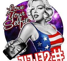 Funny Marilyn Selfie by SeeSide