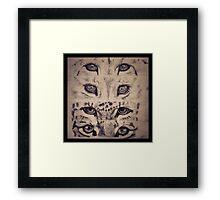 Fixate Framed Print