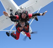 Tandem Skydive Exit 2 by Barnesy