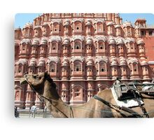 Hawa Mahal, Jaipur landmark, Rajesthan, India Canvas Print