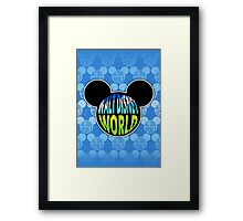 Walt Disney World Earth Framed Print