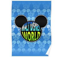 Walt Disney World Earth Poster