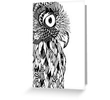 The Tangled Owl Greeting Card