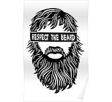 Respect the beard Poster