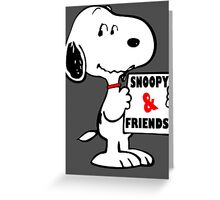 Snoopy The Adventure  Greeting Card