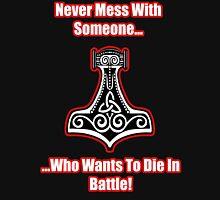 Die In Battle Thors Hammer Unisex T-Shirt