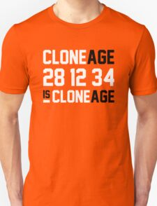 Cloneage Is Cloneage (Orange Ver.) T-Shirt