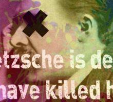 Dead Nietzsche Sticker