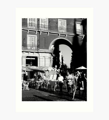 "City Life - ""Day End Fuss"" Art Print"