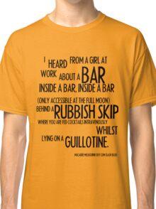 MELBOURNE - BAR Classic T-Shirt