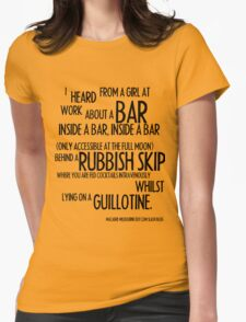 MELBOURNE - BAR Womens Fitted T-Shirt