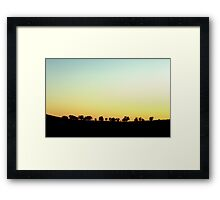Nowhere Framed Print