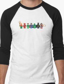 LEGO Justice League of America Men's Baseball ¾ T-Shirt
