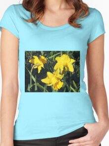 Daffodils Dreaming Women's Fitted Scoop T-Shirt