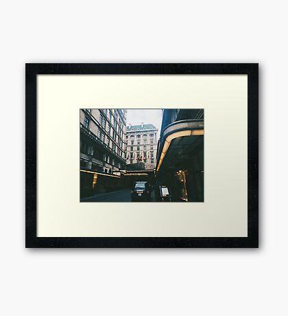 The Savoy Framed Print