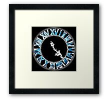 Final Fantasy - Final Hour (blue) Framed Print