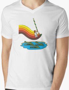 Swinger Mens V-Neck T-Shirt