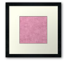 Orchid Smoke Oil Pastel Color Accent Framed Print
