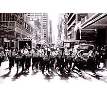 Cops Photographic Print