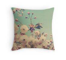 Vintage Cherry Throw Pillow