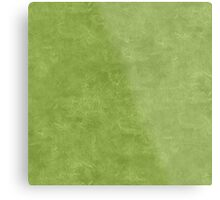 Peridot Oil Pastel Color Accent Metal Print