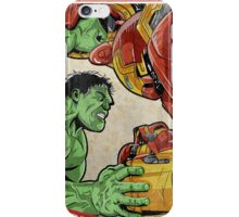 Hulk vs Hulkbuster iPhone Case/Skin