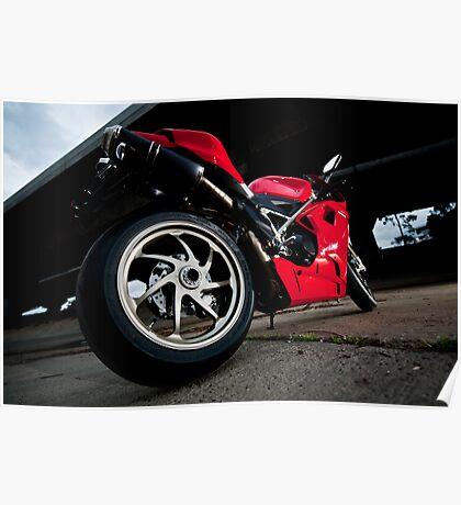 Ducati 1198S  Poster