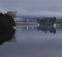 Huonville Bridge by Chris Cobern