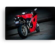 Ducati 1198S  Canvas Print