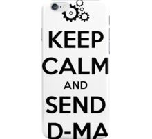 Steins gate anime shirt iPhone Case/Skin