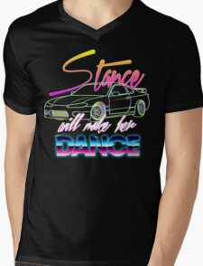 Stance will make her dance Mens V-Neck T-Shirt
