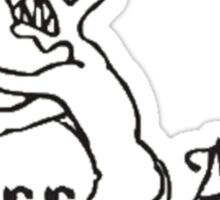 Grrr Argh Sticker