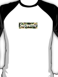 Supreme x Bape Yellow Camo T-Shirt