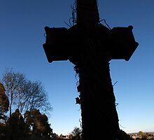 rugged cross by imagegrabber